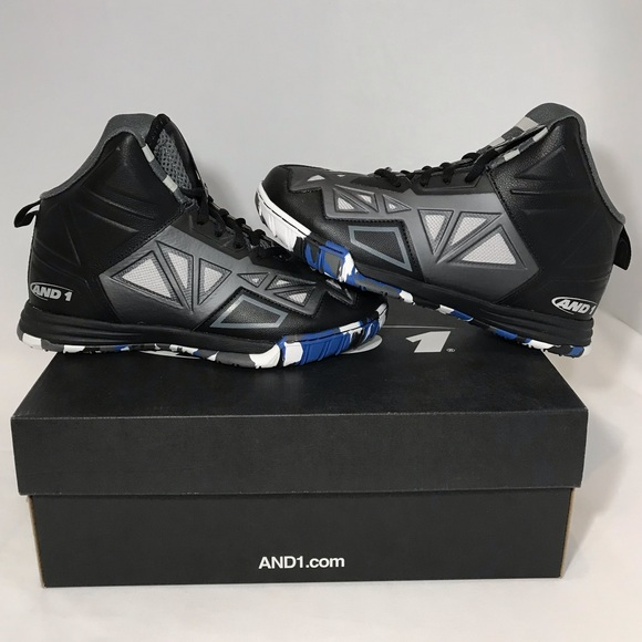 AND1 Boys Chaos Basketball Athletic Shoes,